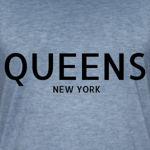 Queens New York City - Koszulka męska vintage