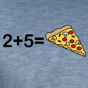 2 5 Pizza - Men's Vintage T-Shirt