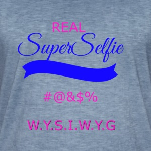 superselfietransparant - Men's Vintage T-Shirt