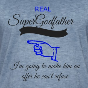 super godfather transparent - Men's Vintage T-Shirt