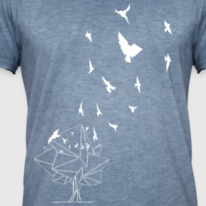 birds_special_white - Men's Vintage T-Shirt
