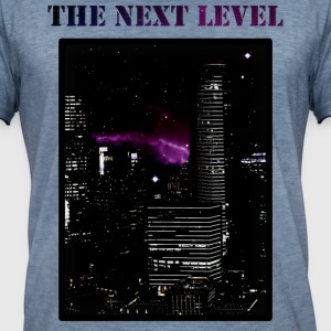 The Next Level - Mannen Vintage T-shirt