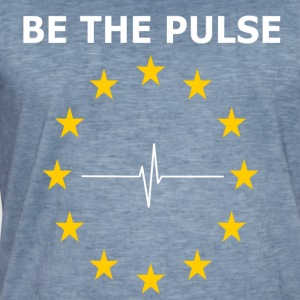BE THE PULSE - Männer Vintage T-Shirt