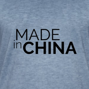 Made in China - Koszulka męska vintage