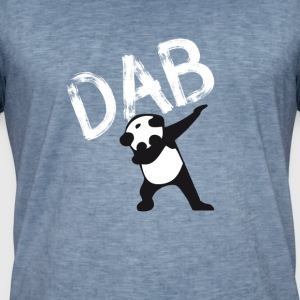 Panda dab badda hiphop Football Dance LOL touchd - Vintage-T-shirt herr