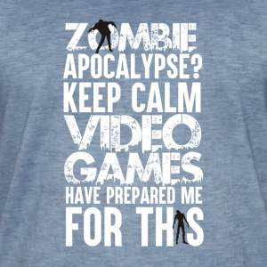 Apocalypse - Gaming - Vintage-T-skjorte for menn