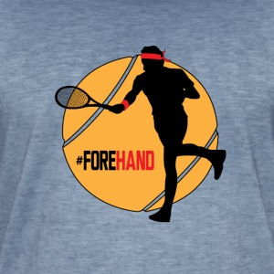 #Forehand Tennis - T-shirt vintage Homme