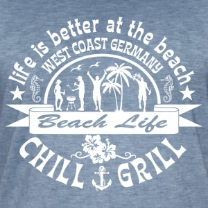 Chill Grill West Coast - Vintage-T-shirt herr