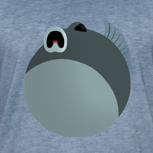 Spooked fish - Men's Vintage T-Shirt