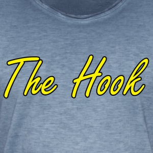The Hook Logo - Vintage-T-skjorte for menn