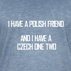 czech_one_two - Männer Vintage T-Shirt