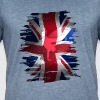 Union Jack British Flag England skater grunch street - Men's Vintage T-Shirt