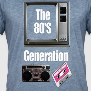 the 80's - Men's Vintage T-Shirt
