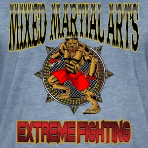 MMA Extreme Fighting T-shirt / te - Herre vintage T-shirt