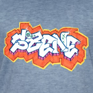 Graffiti - SIR - Herre vintage T-shirt