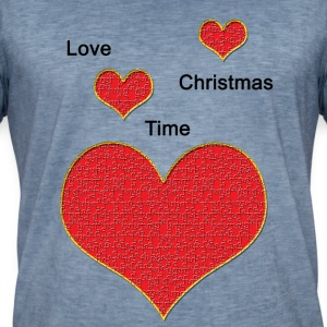 Love_Christmas - T-shirt vintage Homme