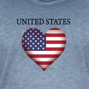 United States - Men's Vintage T-Shirt