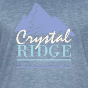 Crystal Ridge - Herre vintage T-shirt