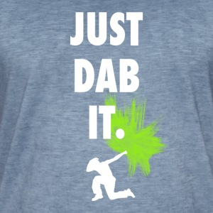 just dab it dabbing touchdown fun cool fun hum LOL - Men's Vintage T-Shirt