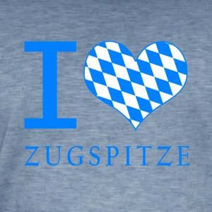 I Love Zugspitze - Men's Vintage T-Shirt