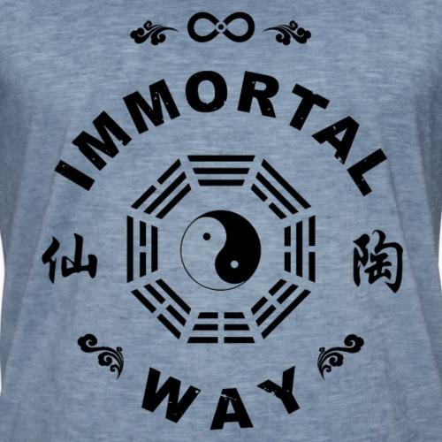 Immortal Way Yinyang Bagua Trigram - Men's Vintage T-Shirt