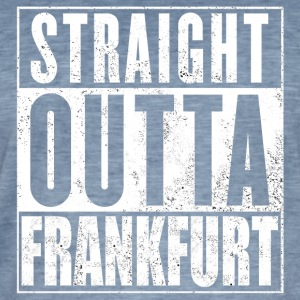 Straight Outta Francfort - T-shirt vintage Homme