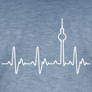 Heartbeat Berlin (Alex) - Men's Vintage T-Shirt