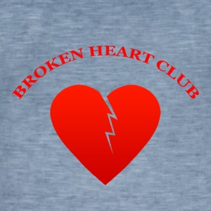 Broken Heart Club - Vintage-T-shirt herr