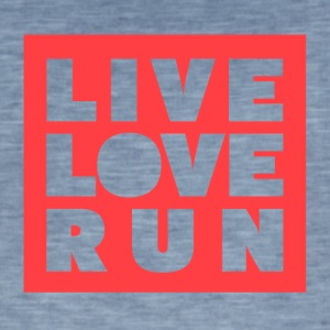 Live Love Run - Men's Vintage T-Shirt