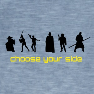 Choose your Side - Männer Vintage T-Shirt