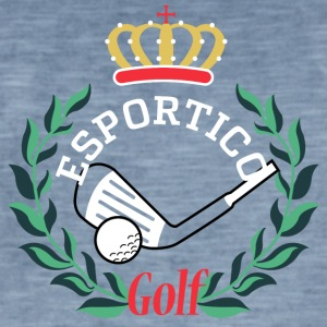 Golf clubs Narcos - Men's Vintage T-Shirt