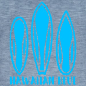 Hawaiian Blue 3 surfboards - Herre vintage T-shirt