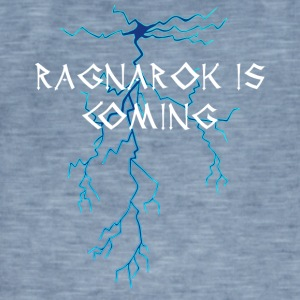 Vikings: Ragnarok Is Coming - Maglietta vintage da uomo