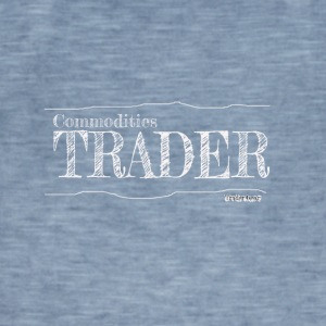 Commodities Trader - Vintage-T-skjorte for menn