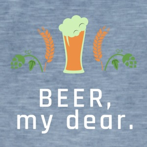 BEER, my dear. - Männer Vintage T-Shirt