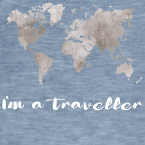 I'm a traveler - Men's Vintage T-Shirt