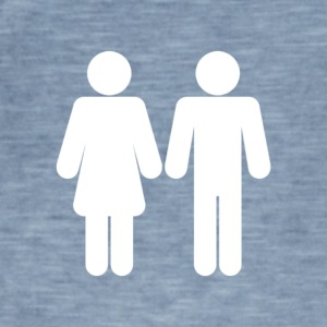 Man and woman - Men's Vintage T-Shirt