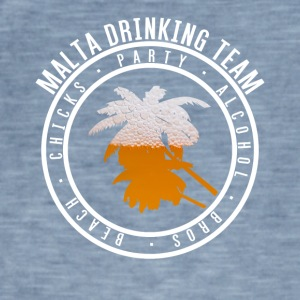 Shirt party holiday - Malta - Men's Vintage T-Shirt