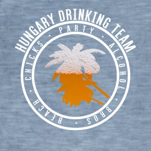 Shirt party holiday - Hungary - Men's Vintage T-Shirt