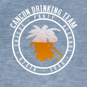 Shirt for Party vakantie - Cancun - Mannen Vintage T-shirt