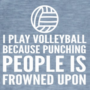 VOLLEYBALL - Men's Vintage T-Shirt