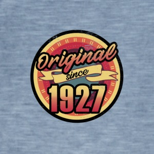 Gift for the 90th birthday - vintage 1927 - Men's Vintage T-Shirt