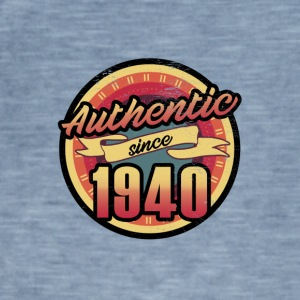 Gift for the 77th birthday - vintage 1940 - Men's Vintage T-Shirt