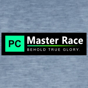 Race Master PC - T-shirt vintage Homme