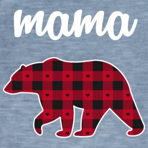 Mama ours - T-shirt vintage Homme