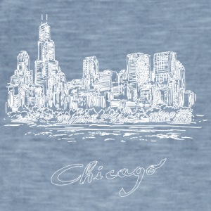 Chicago City - United States - Men's Vintage T-Shirt