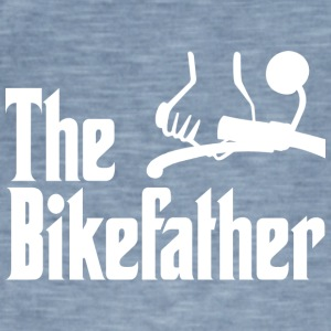 The Bike Vader - Mannen Vintage T-shirt