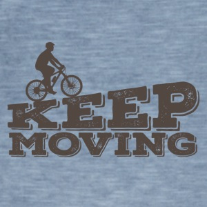 Bicycle: Keep Moving - Men's Vintage T-Shirt
