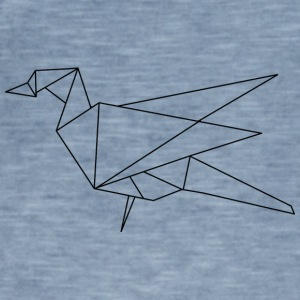 origami bird - Men's Vintage T-Shirt