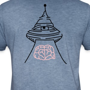 ali-ufo-back - Men's Vintage T-Shirt